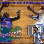 Florida Gators vs. No. 2 Kentucky Wildcats