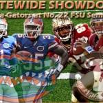 Week 13: Florida Gators at Florida St. Seminoles