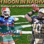 Week 10: Florida Gators at Vanderbilt Commodores