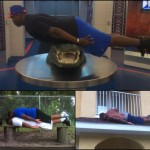 Pounceys, Orr, Watkins, Murphy, Riggs and Silberman join Trail in having fun with planking