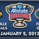 No. 3 Florida Gators set to face No. 21 Louisville Cardinals in 2013 Allstate Sugar Bowl