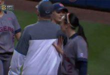WATCH: Florida coach Tim Walton, Fagan sister playing for Auburn get into altercation