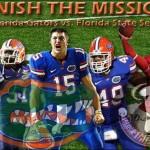 Week 13: No. 1 Florida Gators vs. FSU Seminoles
