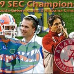 2009 SEC CHAMPIONSHIP GAME – (Atlanta, GA) – No. 1 Florida Gators v. No. 2 Alabama Crimson Tide