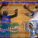 Florida Gators vs. No. 2 Kentucky Wildcats