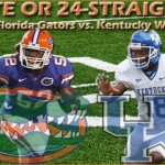 Week 4: No. 8 Florida Gators vs. Kentucky Wildcats