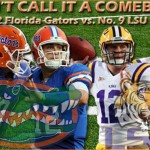 Week 6: No. 12 Florida Gators vs. No. 9 LSU Tigers