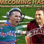 Week 7: No. 22 Florida Gators vs. MSU Bulldogs