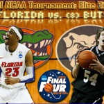 2011 NCAA Tournament: (2) Florida vs. (8) Butler