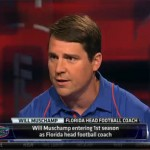 Coach Muschamp goes through ESPN's car wash