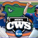 Gators open CWS by defeating Longhorns 8-4