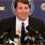 2011 SEC Media Day: Muschamp exudes intensity