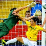 Wambach's game-tying goal propels U.S. to penalty kick victory over Brazil in 2011 World Cup
