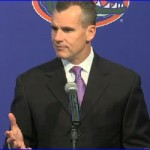 Florida basketball 2011 media day – Donovan