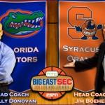 No. 9 Florida Gators at No. 3 Syracuse Orange