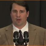 Muschamp discusses Weis at Gator Bowl presser