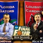 NCAA Elite Eight: (7) Florida vs. (4) Louisville