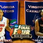 2012 NCAA Tournament: (7) Florida vs. (10) UVA