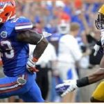 Mike Gillislee, Florida Gators run over LSU 14-6