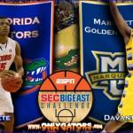 Gameday: (7) Florida Gators vs. Marquette