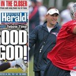 Tim Tebow's whirlwind Tuesday in New England