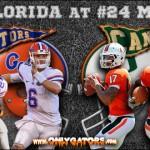 Gameday: No. 9 Florida Gators at No. 24 Miami