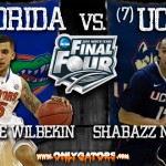 Final Four Gameday – 2014 NCAA Tournament – Arlington, TX: (1) Florida Gators vs. (7) UConn