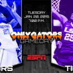 Gameday: Florida Gators vs. LSU Tigers; second-year F Chris Walker still not ready for prime time