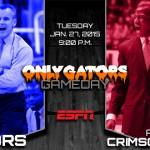 Gameday: Florida Gators at Alabama Crimson Tide – Donovan struggling with inconsistent team