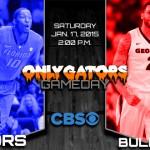Gameday: Florida Gators vs. Georgia Bulldogs; Donovan still wanting more from Frazier, Hill