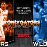 Gameday: Florida Gators vs. No. 1 Kentucky Wildcats – Enormous test on a national stage