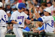 Wet and wild: Florida Gators baseball off to College World Series for third straight season