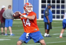 Just a consultant? Steve Spurrier names Gators' starting quarterback