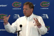 Jim McElwain recaps UMass win, calls for Florida Gators' offense to step way up