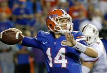 Florida QB Luke Del Rio out indefinitely, Gators down numerous starters