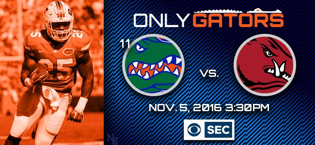 No. 11 Florida Gators football at Arkansas: Game pick, prediction, live stream, what to watch