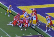 LISTEN: Mick Hubert loses his mind as Florida stops LSU cold with goal-line stand