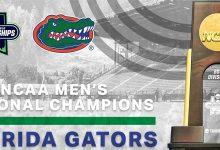 Florida Gators men's track & field wins back-to-back national titles