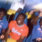 WATCH: 2018 TE Kyle Pitts commits to Florida by Gator Chomping on roller coaster