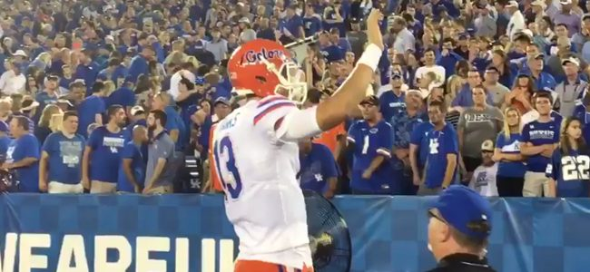 Former Florida QB Feleipe Franks stays in SEC with transfer to Arkansas
