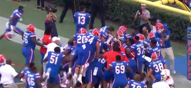 WATCH: Florida beats Tennessee with thrilling Hail Mary TD in The Swamp