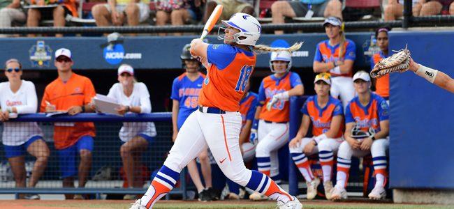 Florida softball walks off vs. Texas A&M to open 2018 Gainesville Super Regional