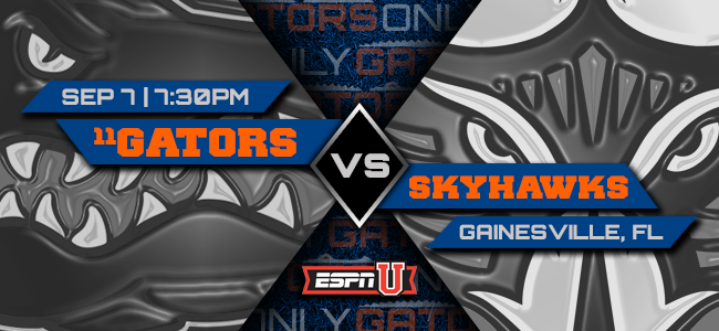 Florida vs. UT-Martin game: Prediction, pick, odds, spread, line, time, TV, watch live stream