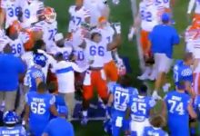 WATCH: Florida player summons 'Stone Cold' Steve Austin, gets revenge for Kentucky celebration