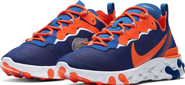 LOOK: Florida football unveils new sneakers with Gator Head logo