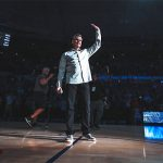 LOOK: Florida basketball makes Billy Donovan Court name larger, permanent in O'Dome