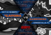 Florida vs. South Carolina game: Pick, prediction, spread, odds, line, time, watch live stream, TV channel