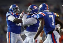 Florida defense hopes it's turned a corner as it preps for Georgia's tough rushing attack