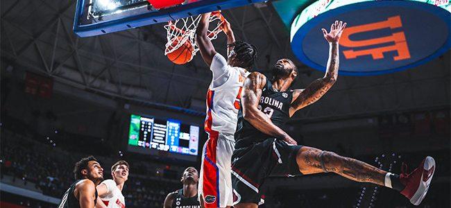 Florida basketball score, takeaways: No. 22 Gators go cold as South Carolina pulls off upset