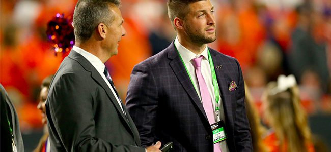 Tim Tebow tried out for Jaguars, could reunite with former coach Urban Meyer as a tight end